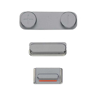 Replacement for iPhone 5S/SE Side Buttons Set - Gray
