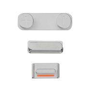 Replacement for iPhone 5S/SE Side Buttons Set - Silver