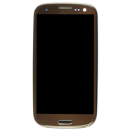 Replacement for Samsung Galaxy S3 I9300 LCD Screen and Digitizer Assembly with Front Housing Brown