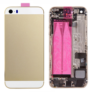 Replacement for iPhone 5S Back Cover Full Assembly - Gold