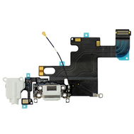 Replacement for iPhone 6 Headphone Jack with Charging Connector Flex Cable - White