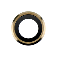 Replacement for iPhone 6/6S Rear Camera Holder with Lens - Gold