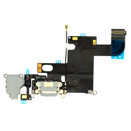 Replacement for iPhone 6 Headphone Jack with Charging Connector Flex Cable - Light Gray