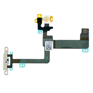 Replacement for iPhone 6 Plus Power Button Flex Cable with Metal Bracket Assembly