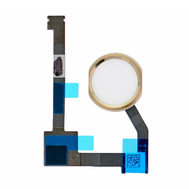 "Replacement for iPad Air 2/iPad mini 4 / iPad Pro 12.9"" Home Button Assembly with Flex Cable Ribbon - Gold"