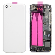 Replacement for iPhone 5C Back Cover Full Assembly - White