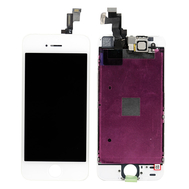 Replacement for iPhone 5S LCD Screen Full Assembly without Home Button - White