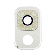 Replacement for Samsung Galaxy Note 3 Rear Camera Lens with Mounting Bracket - White