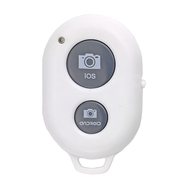 Universal Bluetooth Remote Shutter for Apple iOS & Android OS (White)