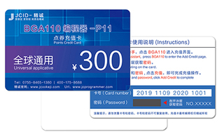 JC P11F Points Credit Recharge