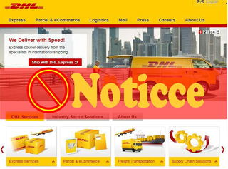 Notice on the suspension of DHL export package service under 5KG (including 5KG)