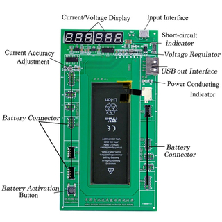 iPhone Battery Charger Activation Board Instruction