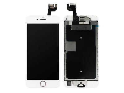 """Home Button Assembly for Apple iPad Pro 10.5/"""" White with Silver Ring"""