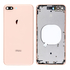 Replacement for iPhone 8 Plus Back Cover with Frame Assembly - Gold