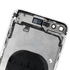 Replacement for iPhone 8 Plus Back Cover Full Assembly - Silver