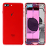 Replacement for iPhone 8 Plus Back Cover Full Assembly - Red