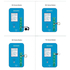 JC Home Button Fingerprint Intelligent Test Fixture for iPhone 5S-8P