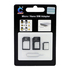 Micro / Nano SIM Adapter, Color: Black