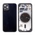 Replacement For iPhone 12 Mini Rear Housing with Frame - Black