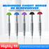 MaAnt 3D Mushroom Knight High-Precision Alloy Screwdriver, Condition: Phillips PH000 1.5mm