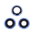 Replacement for iPhone 12 Pro Max Rear Camera Holder with Lens - Pacific Blue
