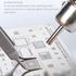 MECHANIC Precision Lengthening Anti-Slip Curved Tweezer Ask-15