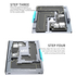 MaAnt Motherboard Layered Test Fixture for iPHone X-12ProMax