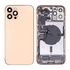 Replacement for iPhone 12 Pro Max Back Cover Full Assembly - Gold