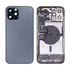 Replacement for iPhone 12 Pro Max Back Cover Full Assembly - Pacific Blue