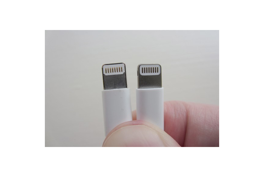 Identify counterfeit or uncertified Lightning connector accessories