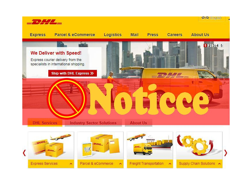 Notice on the suspension of DHL export package service under 5KG (including 5KG)