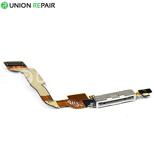 Replacement For iPhone 4 CDMA Dock Connector Flex Cable White 2