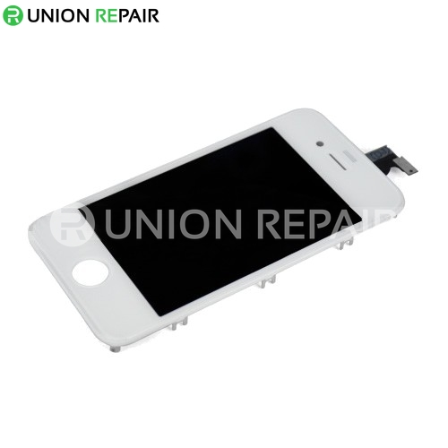 Replacement For iPhone 4 CDMA LCD with Digitizer Assembly White 2