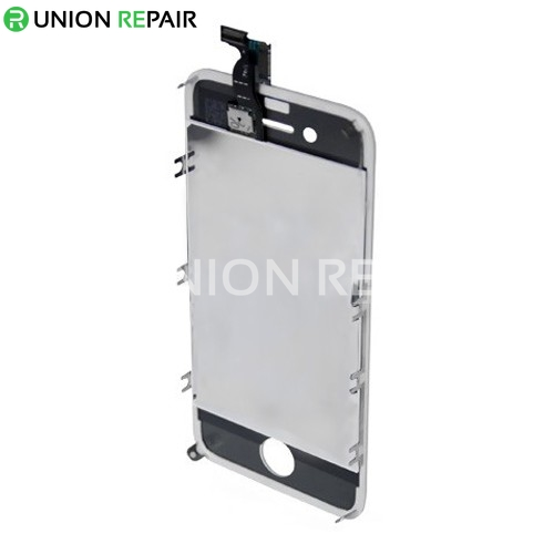 Replacement For iPhone 4 CDMA LCD with Digitizer Assembly White 3