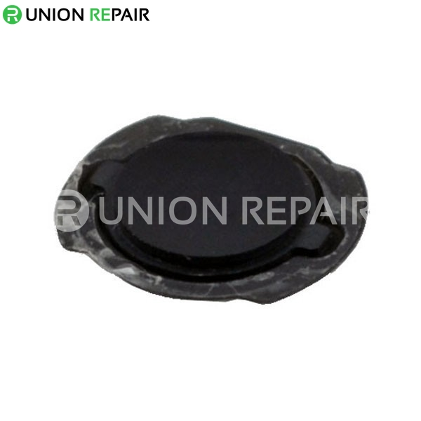 Replacement for iPod Touch 4th Gen Black Home Button with Rubber Gasket