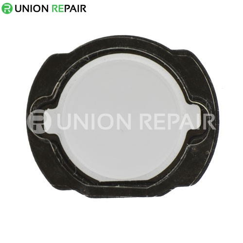Replacement for iPod Touch 4th Gen White Home Button with Rubber Gasket