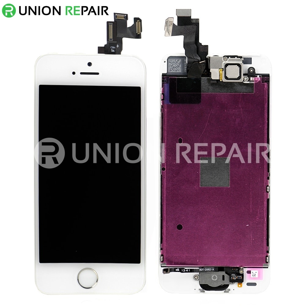 iphone 5s front screen replacement replacement for iphone 5s lcd screen assembly with 7555
