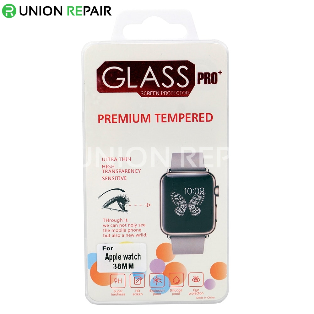 9H Tempered Glass Film 0.2mm Screen Protector for Apple Watch 38mm