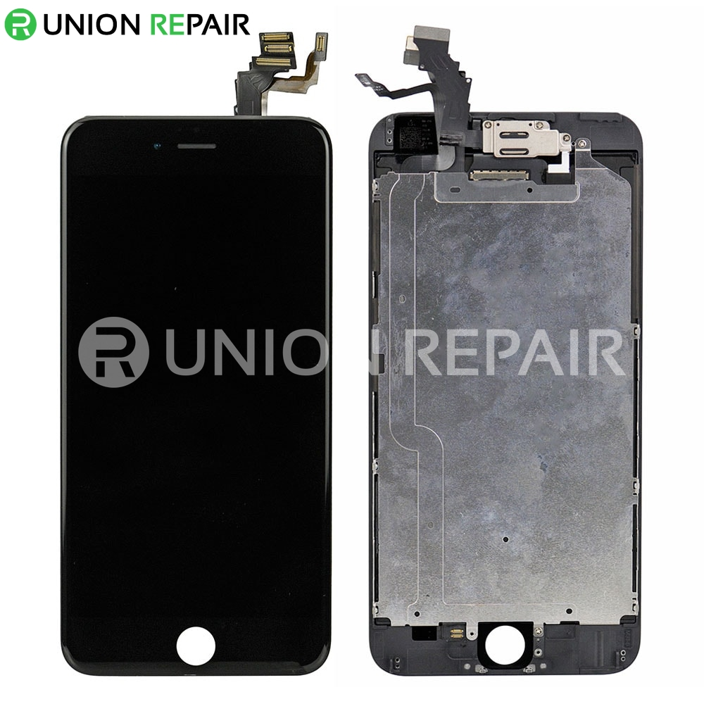 best website 69b46 5ccc8 Replacement for iPhone 6 Plus LCD Screen Full Assembly without Home Button  - Black