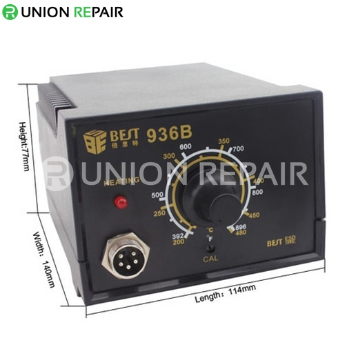 ESD Soldering Iron Antistatic thermostat Soldering Station # BEST-936B