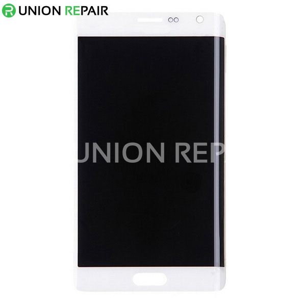 Replacement for Samsung Galaxy Note Edge SM-N915 LCD Screen and Digitizer Assembly Without Home Button - White