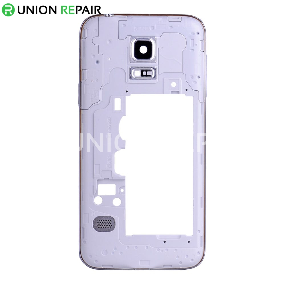 replacement for samsung galaxy s5 mini rear housing white. Black Bedroom Furniture Sets. Home Design Ideas