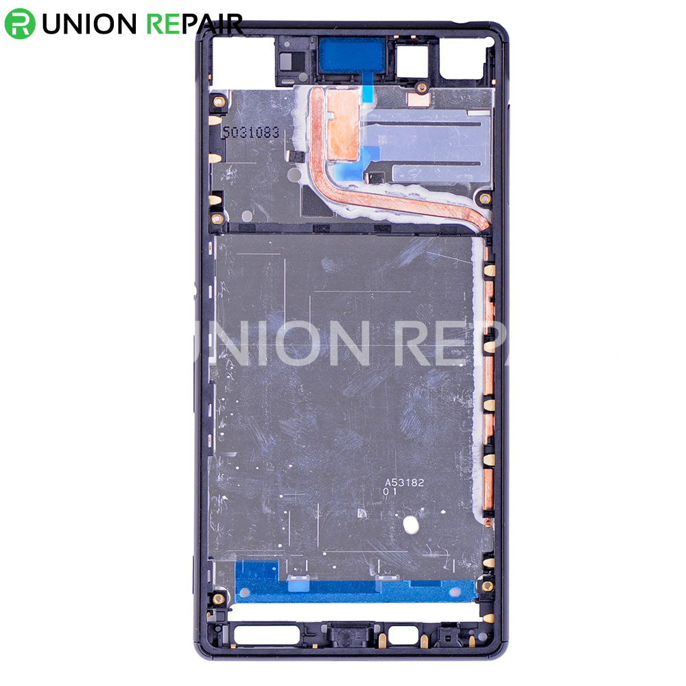 Replacement for Sony Xperia Z4/Z3 Plus Middle Frame Front Housing - Black