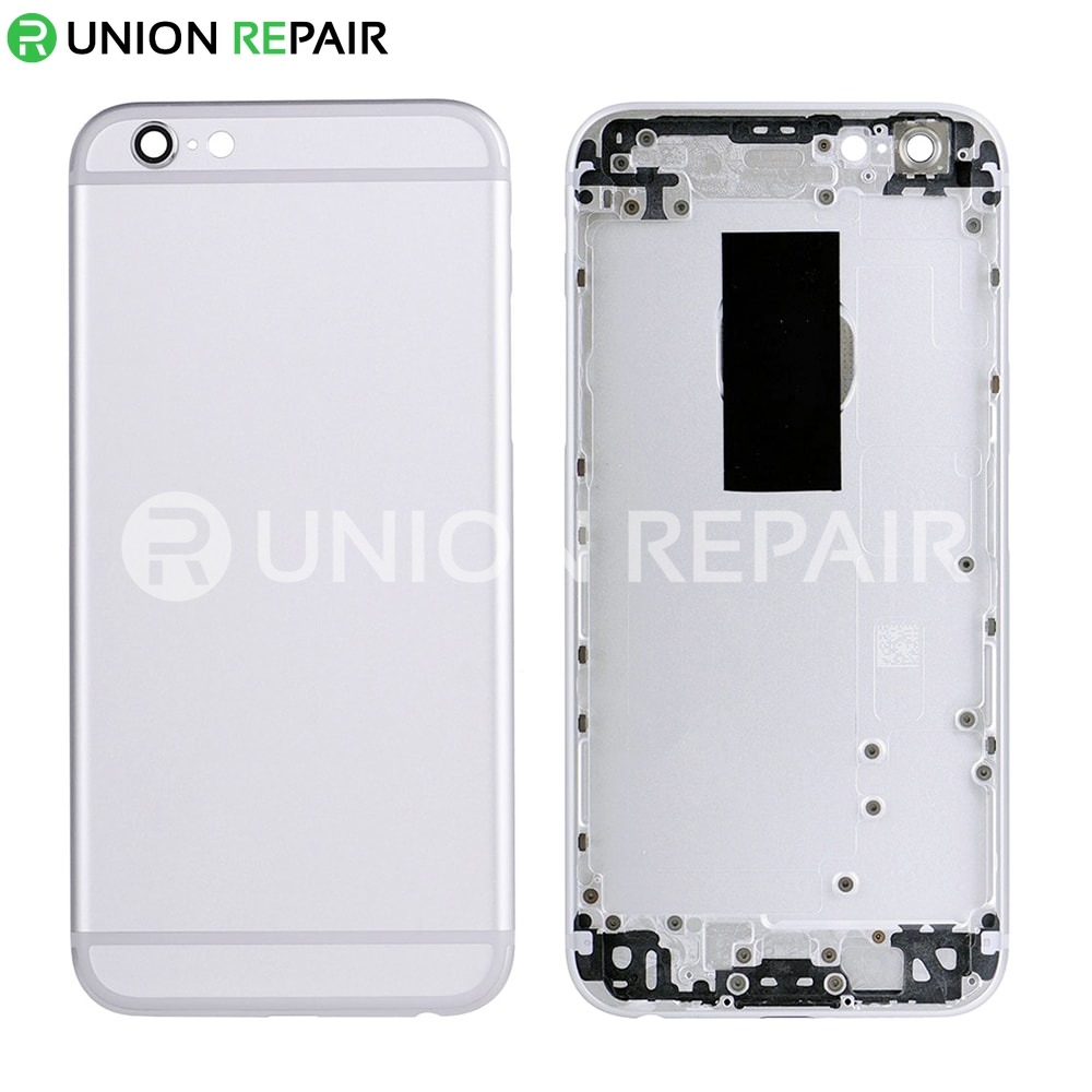 new product 3b9b4 6d4c1 Replacement for iPhone 6S Back Cover - Silver