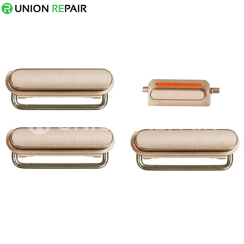 Replacement for iPhone 6S Side Buttons Set - Gold