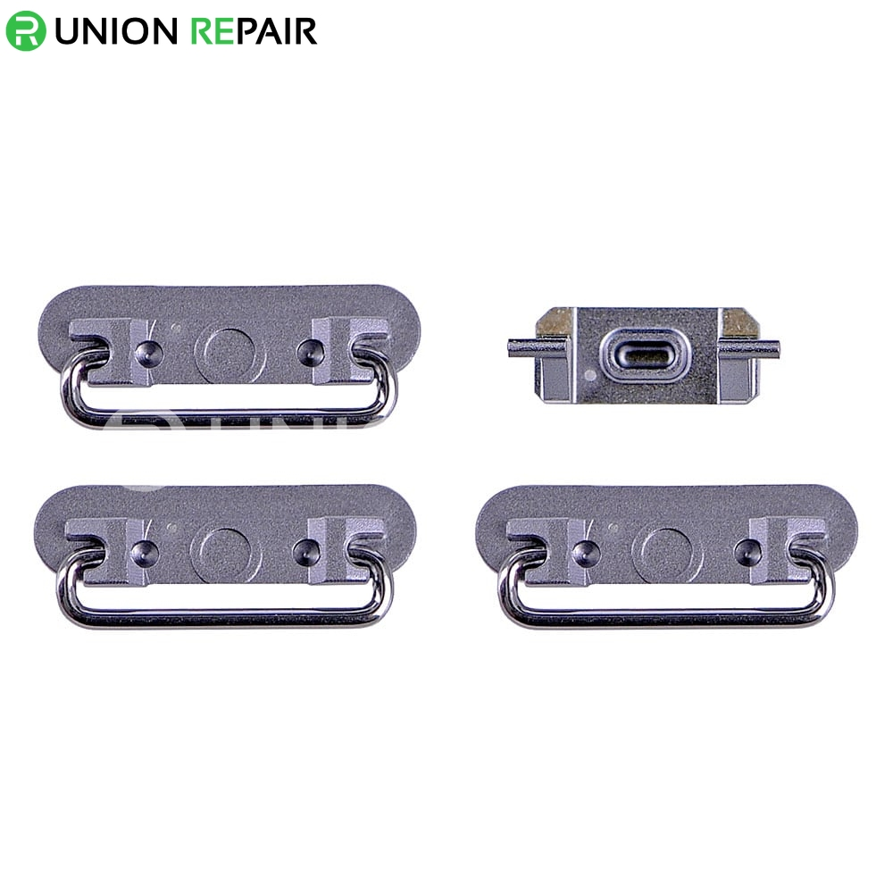 Replacement for iPhone 6S Plus Side Buttons Set - Grey
