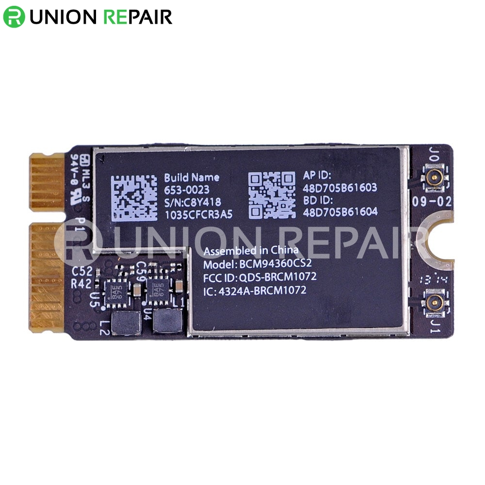 WiFi/Bluetooth Card for MacBook Air A1465 A1466 (Late 2013,Mid 2014,Early  2015) #BCM94360CS2