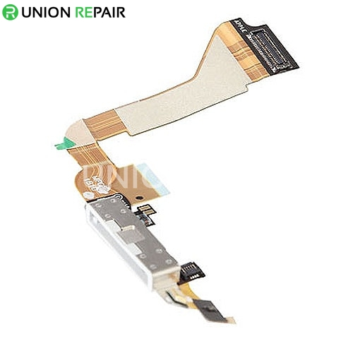 Replacement For iPhone 4 Dock Connector Flex Cable White