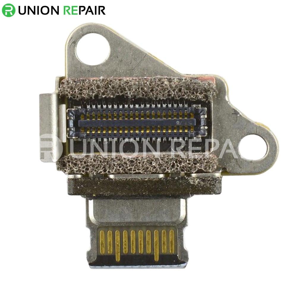 I//O USB C Jack Board Flex Cable Replacement Parts for MacBook Retina A1534
