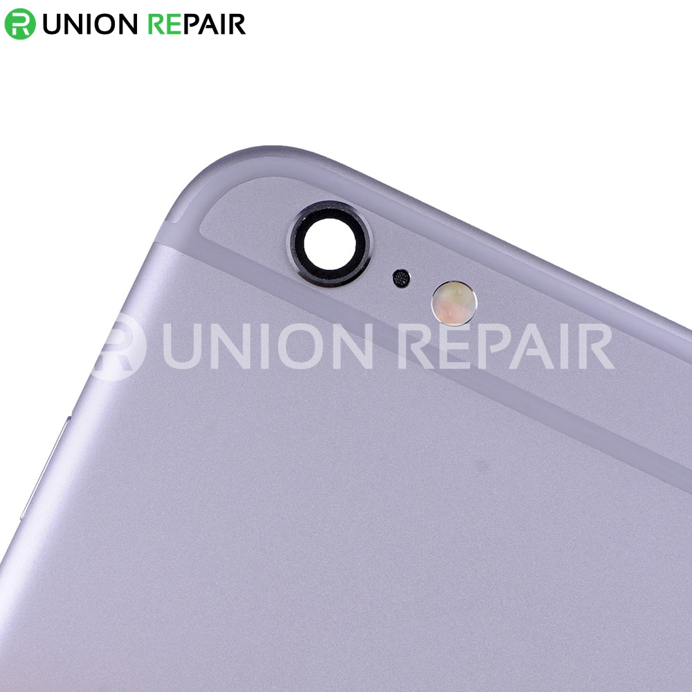 Replacement for iPhone 6 Plus Back Cover Full Assembly - Gray
